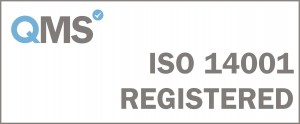 ISO 14001 Registered - White