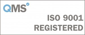 ISO 9001 Registered - White